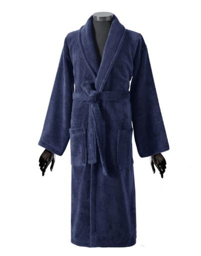 Мужской махровый халат , Бамбук, длинный