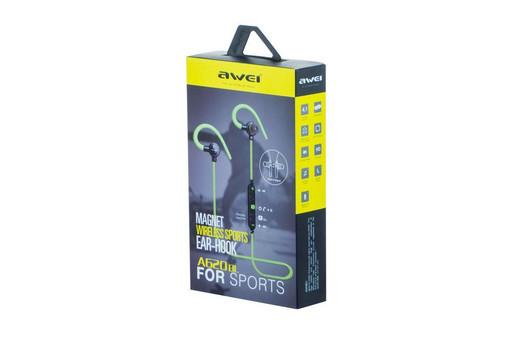 Наушники Bluetooth Awei - A620BL Green