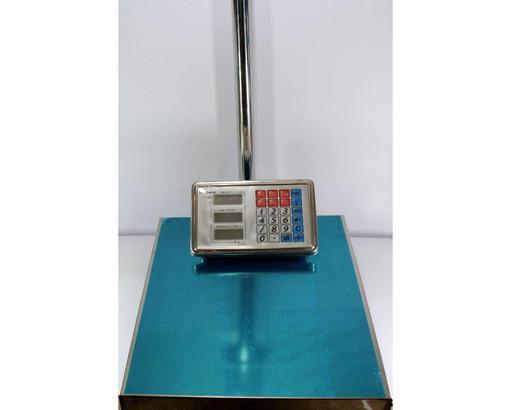 Торговые весы ACS 300kg-350kg 40*50 Fold Domotec 6V с железной головой