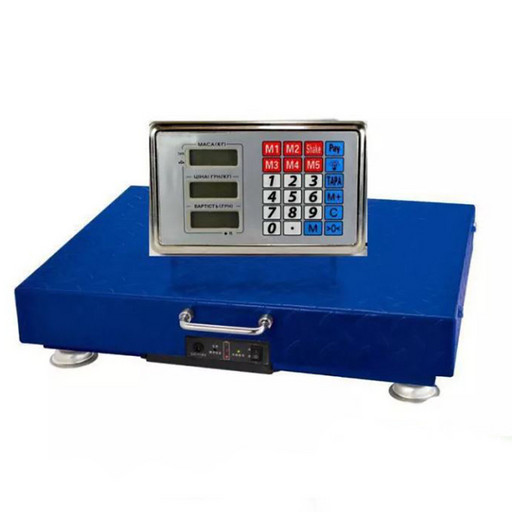Беспроводные торговые весы ACS 600KG WIFI 45*60 см