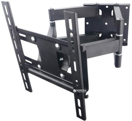 Кронштейн, поворотное крепление для телевизоров CP402 26'-55' на стену до 50кг с поворотом на 180º