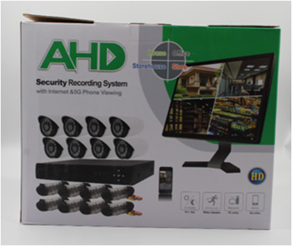 Рег.+ Камеры DVR KIT 945 8ch Gibrid AHD набор на 8 камер, Система видеонаблюдения, Внутренняя, уличная камера