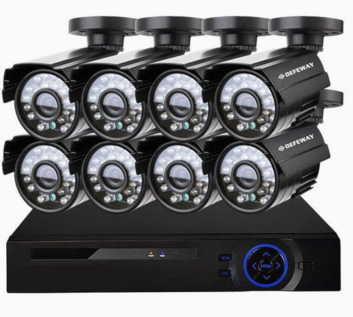Комплект видеонаблюдения на 8 камер DVR KIT 945 8ch Gibrid AHD набор