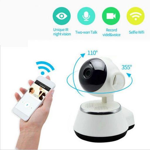Видеокамера наблюдения для дома Smart Net Camera IPC-V380-Q3S, WiFi камера (Вайфай камера)