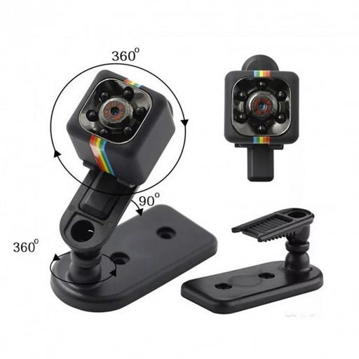 Микро камера, Мини видеокамера sq11 full hd + ночная съемка и дачик движения