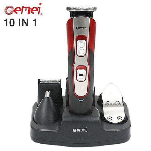 Электробритва, триммер, машинка для стрижки Gemei GM-592 10 в 1