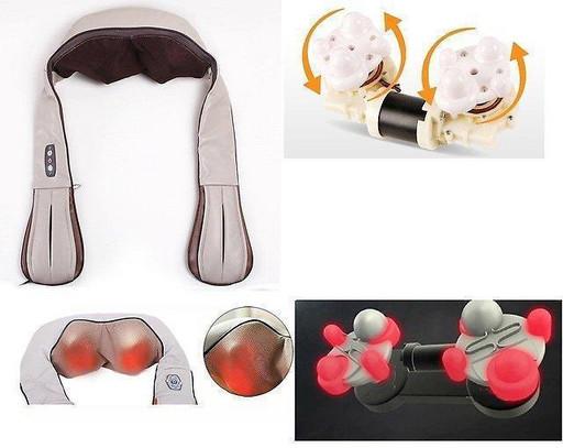 Массажер для шеи и плеч вибрационный Massager of Neck Kneading