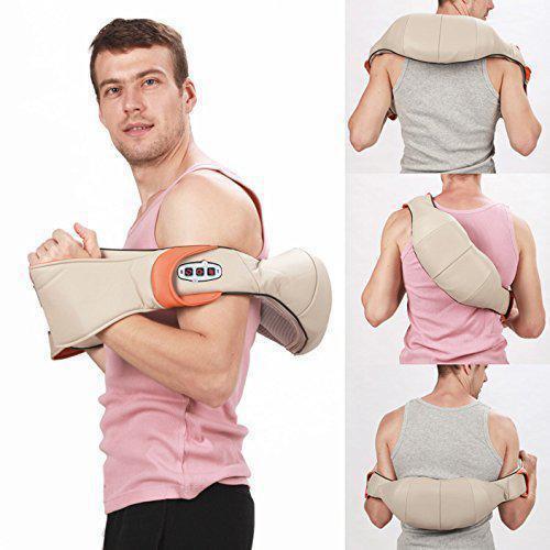 Массажер накидка для шеи, плеч и спины с подключением в авто Massager of Neck Kneading