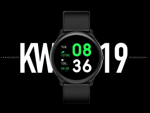 Наручные часы Smart Watch KW19 с тонометром