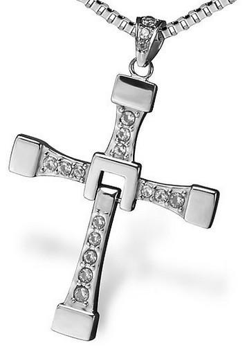 Крест Доминика Торетто (Вин Дизель), кулон из Форсажа