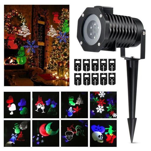 Christmas Laser Projector 16 картриджей № 16F