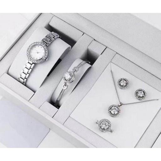 Часы подарочные набоы DIOR silver (30шт/ящ)* 15