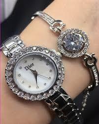 Часы подарочные набоы DIOR silver (30шт/ящ)*