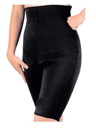 Бриджи утягивающие STOVE PIPE PANTS, женские, черные, пояс для похудения, шорты для похудения, женские бриджи