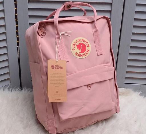 Рюкзак Fjallraven Kanken Classic Канкен Текстиль 16 литров водоотталкивающий рефлективный 6 цветов реплика