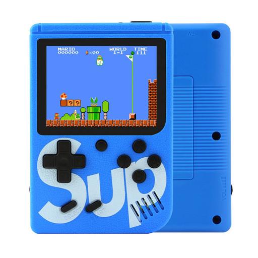 Ретро игровая приставка (Игровая консоль) Game Box sup 400 игр в 1 джойстик Blue