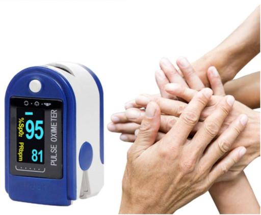 Измеритель пульса, Пульсоксиметр AD-807 на палец, Пульсометр компактный, беспроводной | Вимірювач пульсу