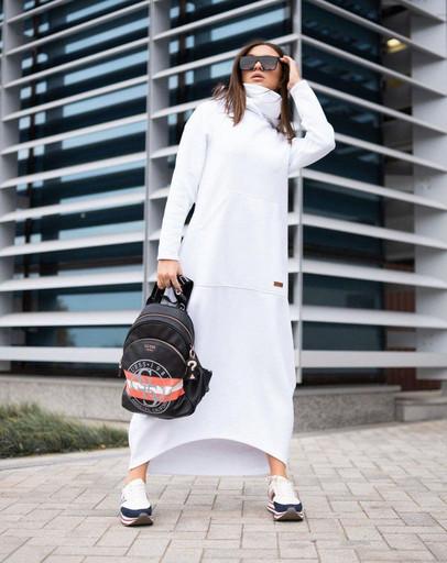 платье балахон