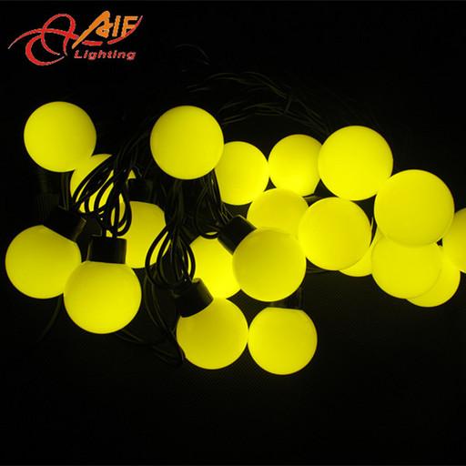 Гирлянда Шарики 50 LED Жёлтый 5 метров