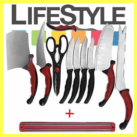 Превосходный набор кухонных ножей Contour Pro Knives (Контр Про) с магнитным держателем. АКЦИЯ - Скидка 30%