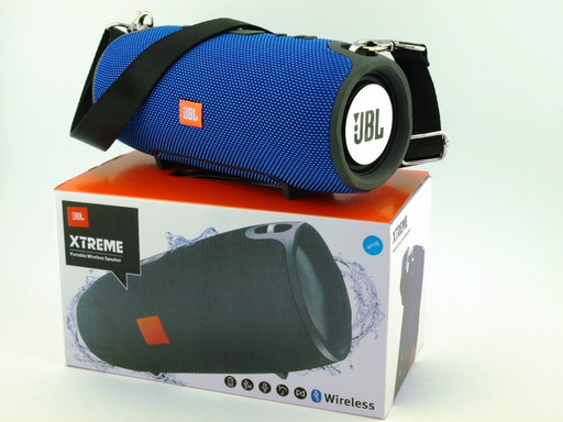 JBL XTREME 13 small Bluetooth колонка 40W с FM MP3 копия, синяя