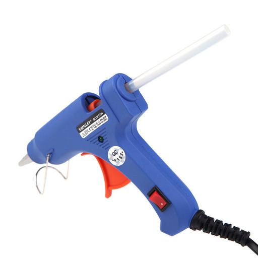 Пистолет для силиконового клея XL-E20, Клей-пистолет, Клеящий пистолет, Пистолет для термоклея