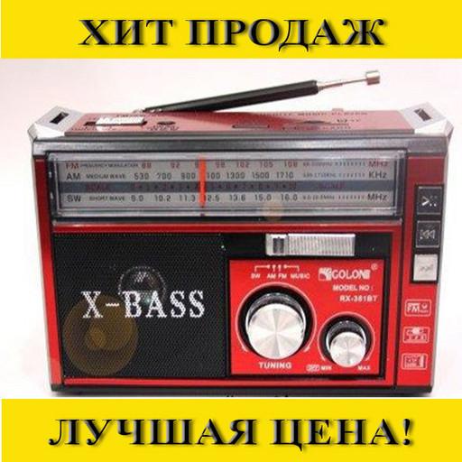Радио Golon RX-381 MP3/USB/фонарик
