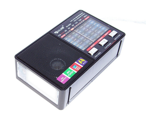 Радио Golon RX-8866 (8868) FM/AM/SW/ MP3 + фонарик, черная