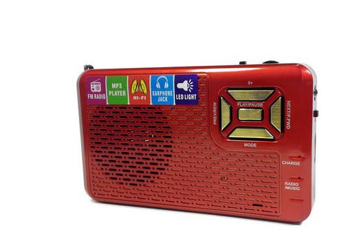 Радио RX 992 REC, Радиоприемник Golon, Портативный радиоприемник, FM-радиоприемник, Радио с LED фонариком
