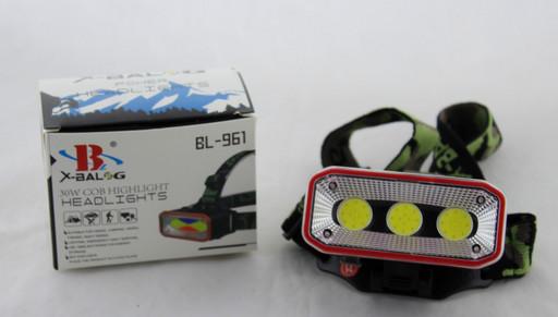 Фонарик на лоб BL 963/961 (240)