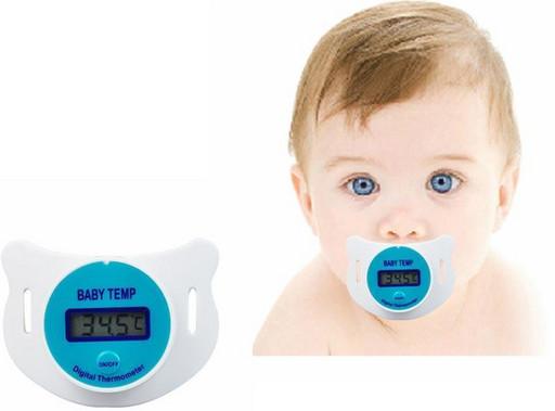 Цифровой термометр в виде соски SOSKA TEMERATURE