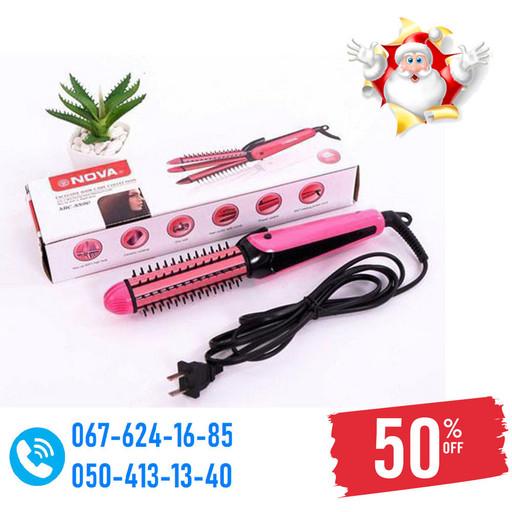 Плойка Утюжок для волос 3в1 NHC-8890