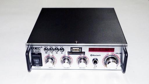Усилитель звука UKC SN-004BT FM USB Bluetooth + Караоке