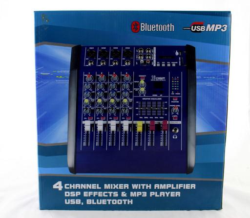 Аудио микшер Mixer BT 4200D 4ch. (4)