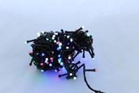 Разноцветная светодиодная гирлянда LED 200 M-4 (200 светодиодов)