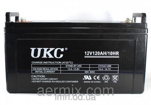 Аккумулятор, батарея, BATTERY 12V 120A