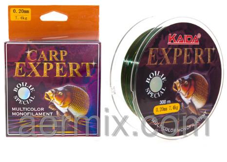 Леска Kaida CARP EXPERT YX-406-25, леска карп эксперт 300 метров, леска для рыбалки, леска для спиннинга