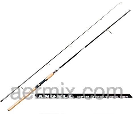Спиннинг Kaida 103-732-240, рыболовный спиннинг, спиннинг длиной 2,4 метра, штекерный карбоновый спиннинг
