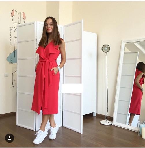"Универсальное Платье - кардиган  "" Эйми ""( Габардин )"