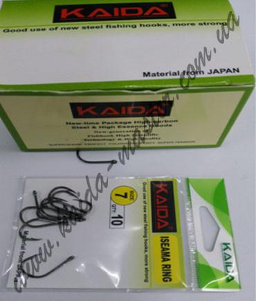 Крючки Kaida зеленые №10