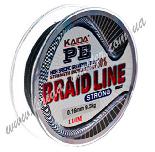 Плетенка BRAID LINE KAIDA strong YX-112-40