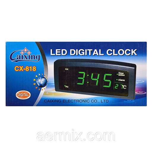 Настольные светодиодные часы 818 Led Digital Clock