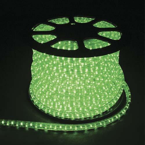 Светодиодный дюралайт Feron LED 2WAY зеленый 7000К