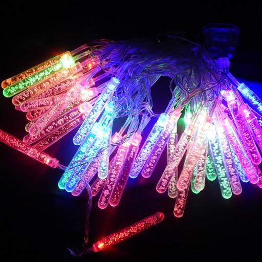 Гирлянда Сосульки LED 40 мульти