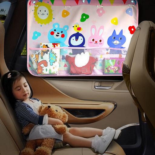 Автомобильная шторка для окна - солнцезащитная детская