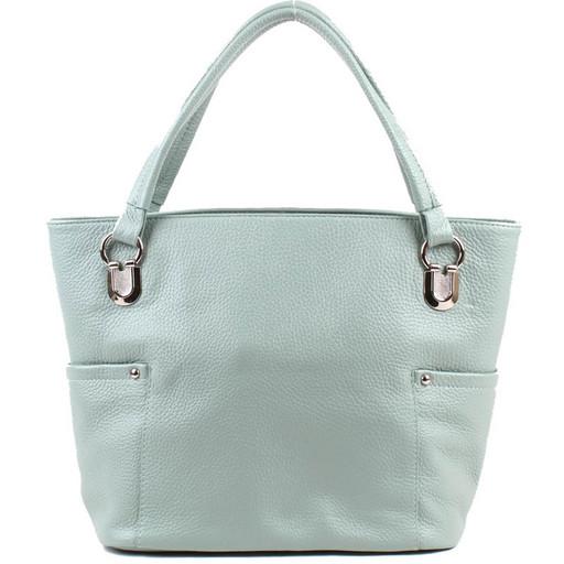 Женская кожаная сумка на каждый день