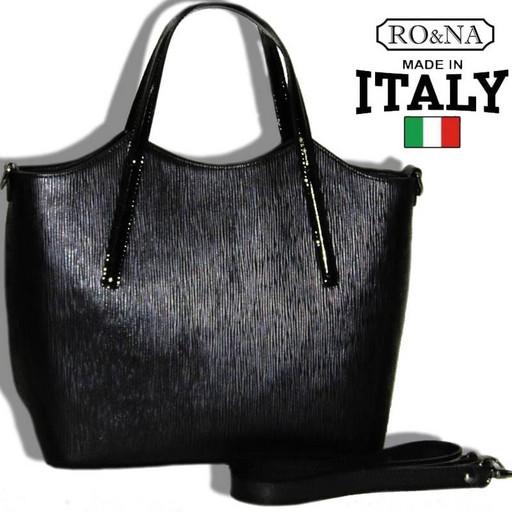 Итальянская женская сумка из натуральной кожи-RO&NA