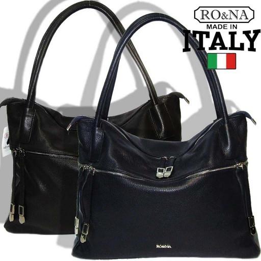 Итальянская сумка из натуральной кожи на плечо