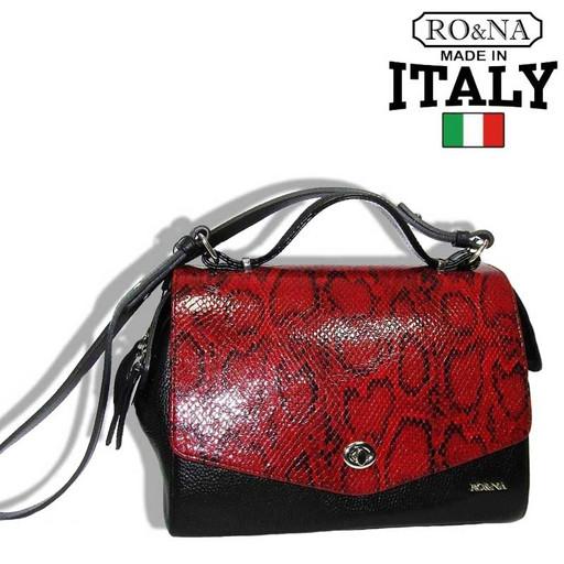 Женская маленькая сумка из натуральной кожи-Итальянская