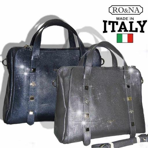 Женская деловая сумка из натуральной кожи - RO&NA
